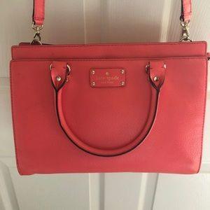 Kate Spade Wellesley Leather Durham Satchel